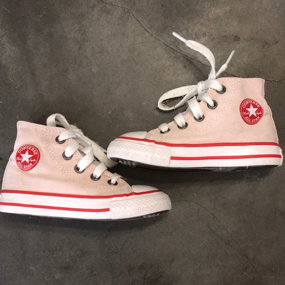 Converse Shoes | Pale Pink All Star